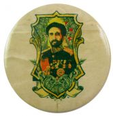 Haile Selassie - 'Crest' 56mm Badge